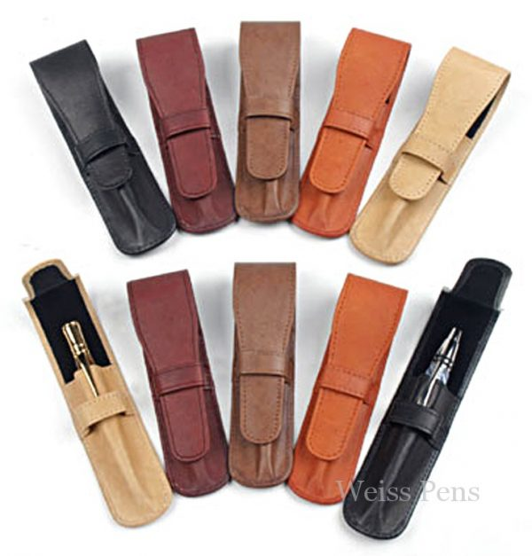 Leather Pen Pouches
