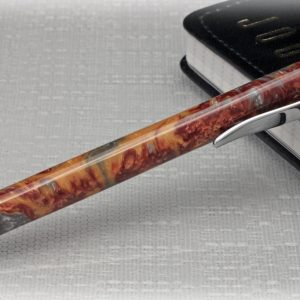 Smelted Metal Click Pen